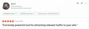 google ads review of product